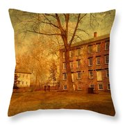 The Village - Allaire State Park Throw Pillow