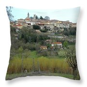 The Village And The Countryside Throw Pillow