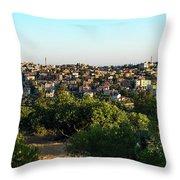 The Village Throw Pillow