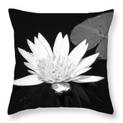 The Vintage Lily II Throw Pillow