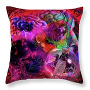 The Violent Mind Throw Pillow