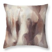The Violins Throw Pillow