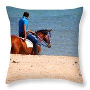 the Virginian  Throw Pillow