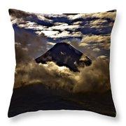 The Volcano Throw Pillow