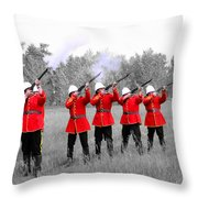 The Volley Throw Pillow by Al Bourassa