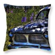 The Volvo Throw Pillow
