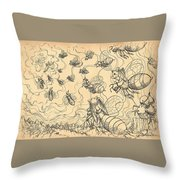The Vortex Of Time And Space Throw Pillow