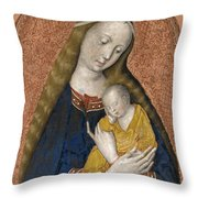 The Vrigin And Child Throw Pillow