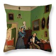 The Waagepetersen Family Throw Pillow