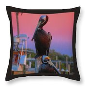 The Waiting Is The Hardest Part Throw Pillow