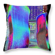 The Wake Throw Pillow