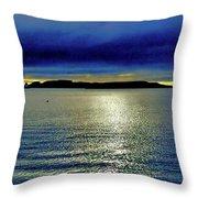 The Waking Giant Throw Pillow