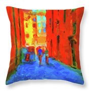 The Walkabouts - When In Rome Throw Pillow