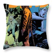 The Walking Dead - Now Or Never Throw Pillow