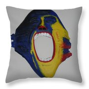 The Wall Mount Throw Pillow