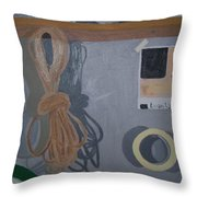 The Multi Lit Wall Throw Pillow