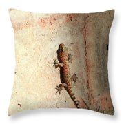 The Wall Walker Throw Pillow