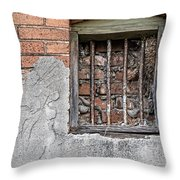 The Wall Within Throw Pillow