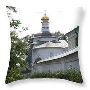 The Walls Of Dmitrov Throw Pillow