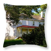 The Waln House Throw Pillow