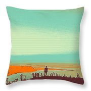 The Wandering Youth 4 Throw Pillow