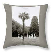 The War Cemetery Throw Pillow