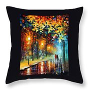 The Warmth Of Friends Throw Pillow