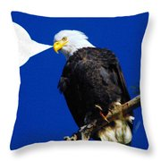 The Warning  Throw Pillow