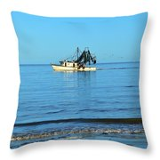 The Warrior Throw Pillow