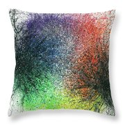 The Warriors Of The Rainbow #704 Throw Pillow