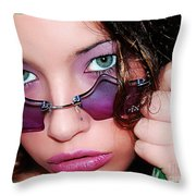 The Watcher II Throw Pillow
