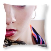 The Watcher Vi Throw Pillow