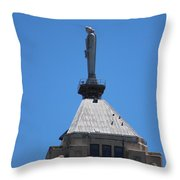 The Watchers Chicago Illinois Architecture Throw Pillow