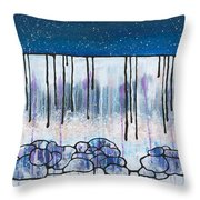 The Water And The Fall Throw Pillow