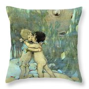 The Water-babies Throw Pillow