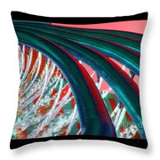 The Water Force Throw Pillow