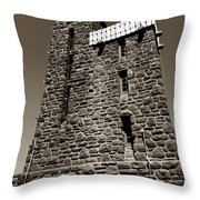 The Water Tower At Mount Constitution Throw Pillow