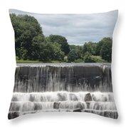 The Waterfall - Harrisville Throw Pillow