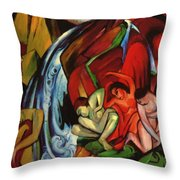 The Waterfall 1912 Throw Pillow