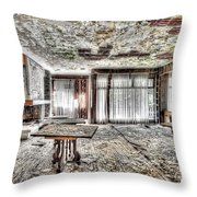 The Waterfall Hotel - L'hotel Della Cascata Throw Pillow