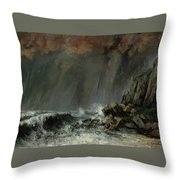 The Waterspout Throw Pillow