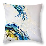 The Wave 3 Throw Pillow