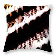 The Wave Station Throw Pillow