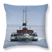 The Waverley Approaches Throw Pillow