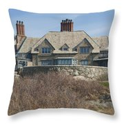 The Waves Throw Pillow