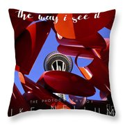 The Way I See It Coffee Table Book Cover Throw Pillow