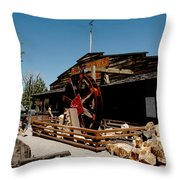 The Way It Was Virginia City Nv Throw Pillow
