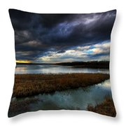 The Way Of The River Throw Pillow