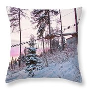 The Way To The Sky 2 Throw Pillow