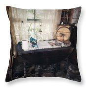 The Way We Once Lived Throw Pillow